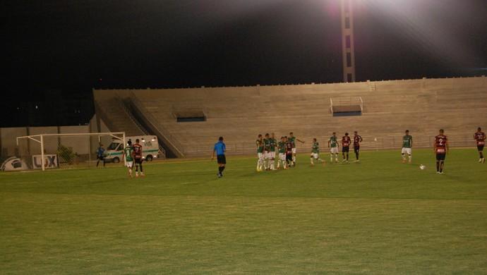 Campinense x Palmeira de Goianinha, Amigão (Foto: Silas Batista / GloboEsporte.com)