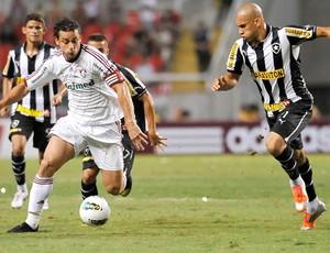 Fred, Fluminense e Botafogo (Foto: Dhavid Normando / Photocamera)