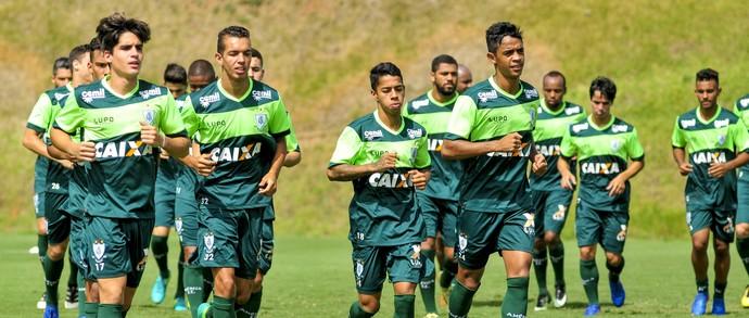 Gustavo Blanco; Makton; Matheusinho; Felipe Amorim; América-MG (Foto: Mourão Panda)