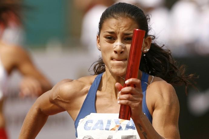 Ana Cláudia Lemos atletismo (Foto: Dorival Rosa / CBAt)