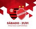 Com intermédio de Roni, Vila Nova agenda amistoso com Flamengo