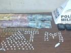 Oito pessoas são detidas com 160 pedras de crack em Pirapora