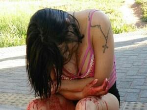Travesti foi vítima de atentado a bala em Natal nesta quinta (14) (Foto: Dovulgação/PM)