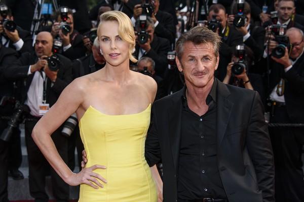 Charlize Theron e Sean Penn (Foto: Getty Images)