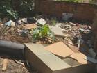 Moradores de Campinas reclamam de locais com entulho e água parada