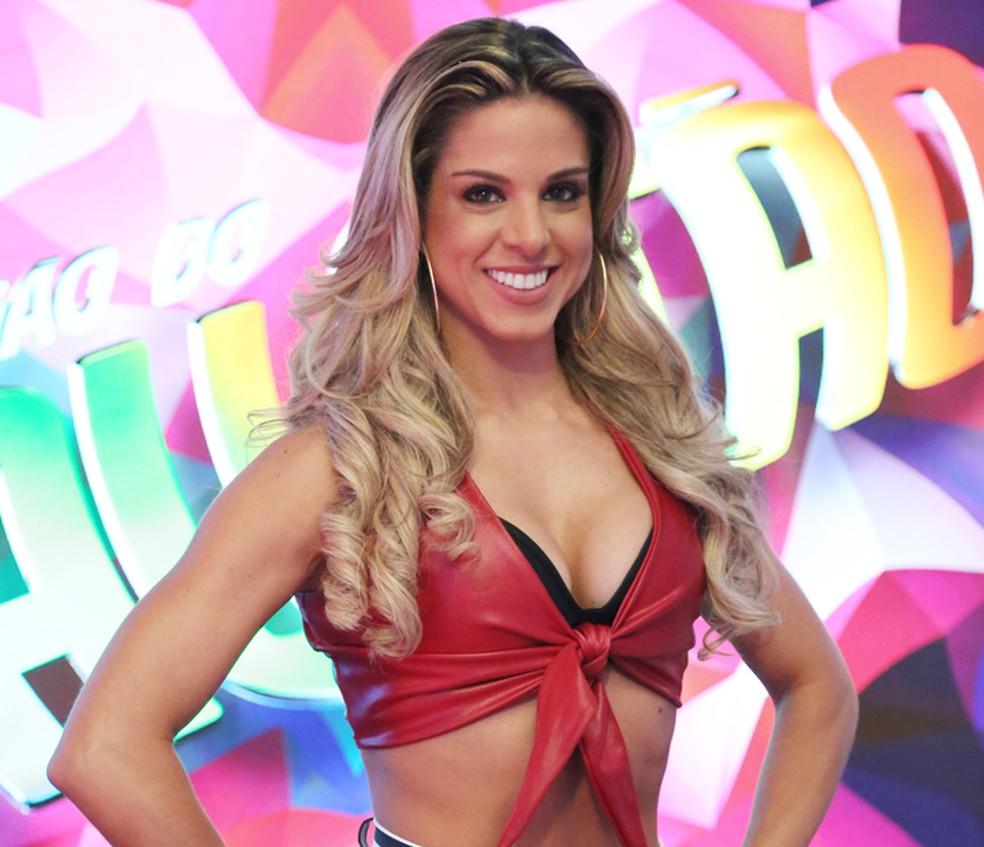 Raquel Guarini é bicampeã do 'Dança dos Famosos': ganhou com Rodrigo Simas e Marcello Melo Jr. (Foto: Carol Caminha / Gshow)