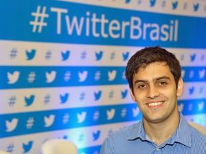 O brasileiro Rafael Dahis, gerente de produtos para mercados internacionais do Twitter (Foto: Divulgação)