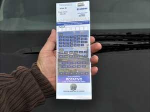 Zona Azul de Campinas adota modelo 'rapadinha' no cartão para evitar fraudes (Foto: Divulgação/Prefeitura de Campinas)