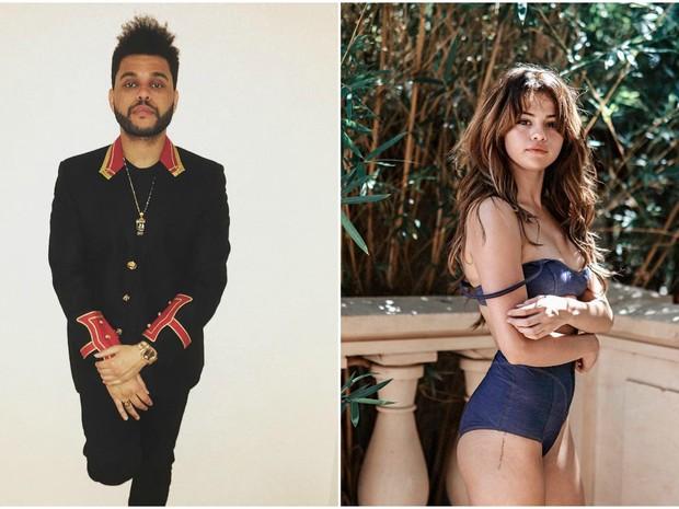 The Weeknd e Selena Gomez foram flagrados juntos (Foto: Reproduo/Instagram)