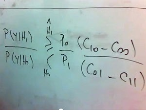 Teste de hipótese Bayesiano (Foto: Reprodução/YouTube/Geovany Borges)