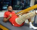 Breno inicia fisioterapia no São Paulo após cirurgia no joelho direito