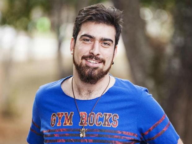 Gabriel Estrela, ator que escreveu e vai dirigir peça sobre experiência pessoal (Foto: Gabriel Estrela/Arquivo Pessoal)