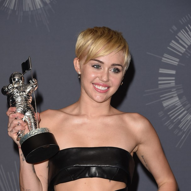 Miley Cyrus no VMA 2014 (Foto: Getty Images)
