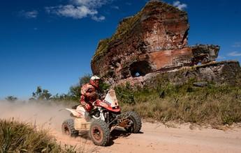 Participantes do rali já estão no percurso que passa pelo Jalapão