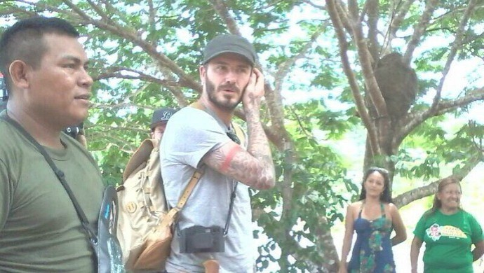David beckham Amazonas (Foto: Divulgação/arquivo pessoal)