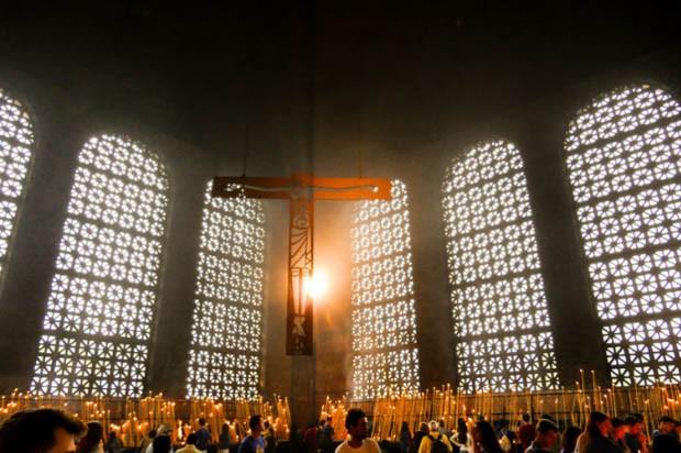 Romeiros devem lotar a cidade de Aparecida nesta quarta-feira (12/10), dia da Padroeira do Brasil (Foto: Cesar Itiberê/ Fotos Públicas)