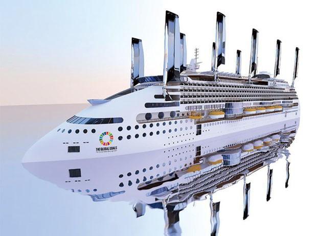 Japoneses criam o navio mais sustentável do mundo  (Foto: Divulgação)