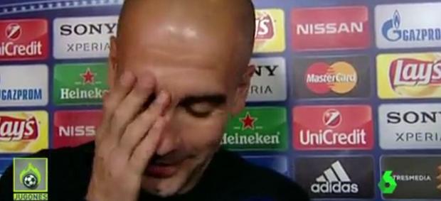 """BLOG: Guardiola mostra irritação ao falar de gramado: """"Ganhei muitas Ligas, desculpe"""""""