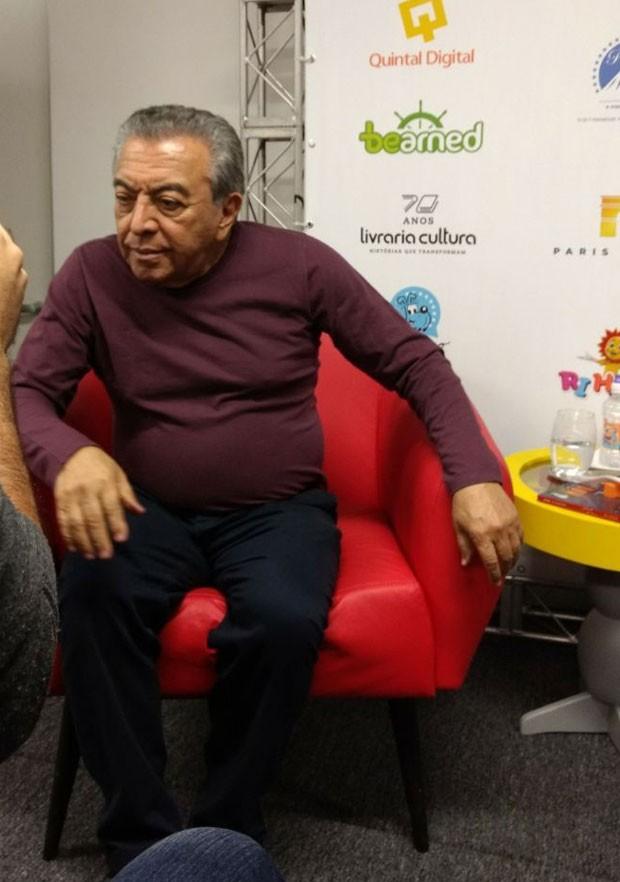 Mauricio de Souza, o criador da Turma da Mônica (Foto: Marina Bonini)