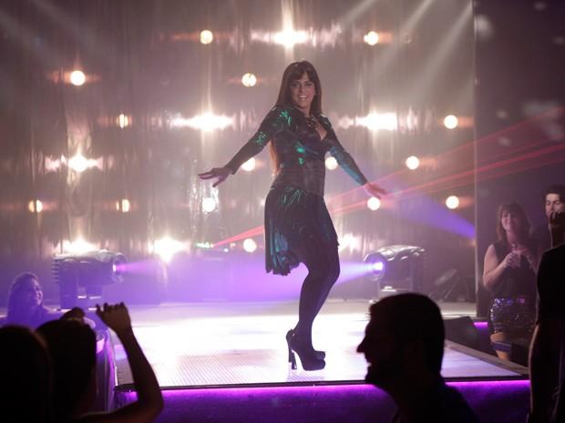 Lohana arrasando no palco!  (Foto: Salve Jorge/TV Globo)