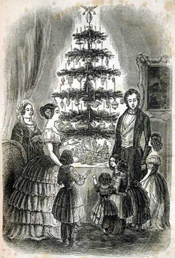 Ilustração do Godey's Ladys Book (Foto: Reprodução)