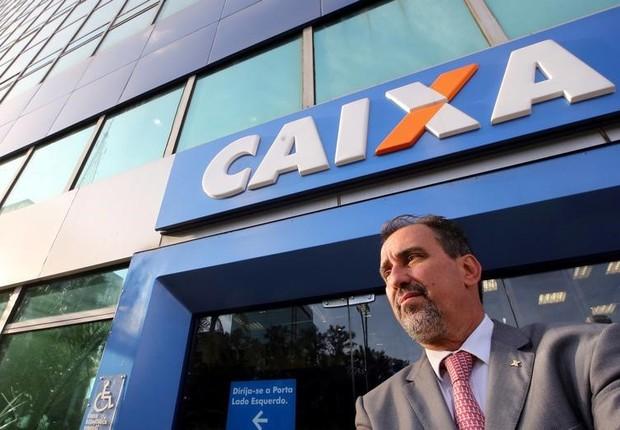 Presidente da Caixa, Gilberto Occhi (Foto: Paulo Whitaker/Reuters)