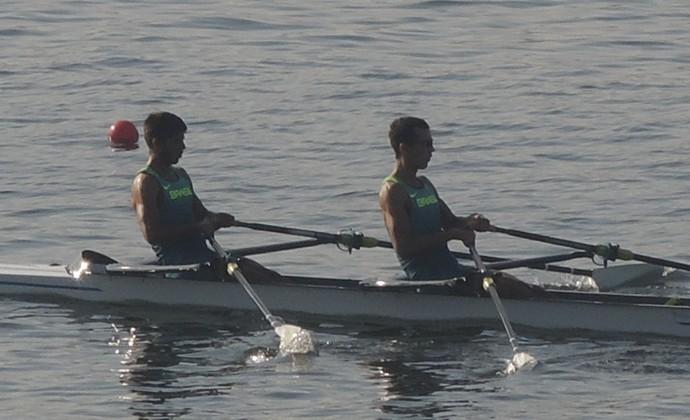 Xavier Vela e William Giareton - remo Brasil (Foto: Fred Huber)