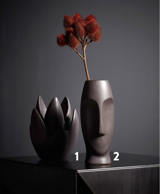 Escultura de cerâmica (Foto: Deborah Maxx / Editora Globo)