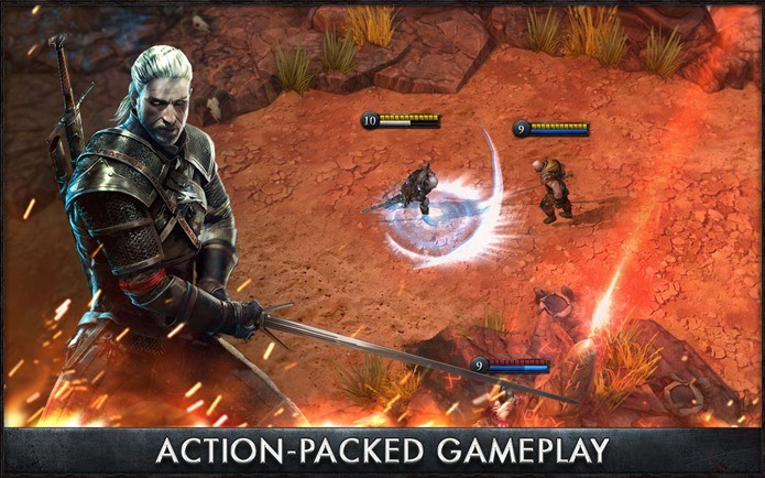 Game da série The Witcher chega ao Android (Foto: Divulgação)