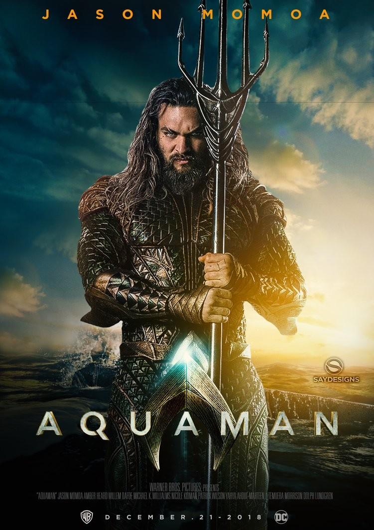 Cartaz do filme 'Aquaman' (Foto: Divulgação)