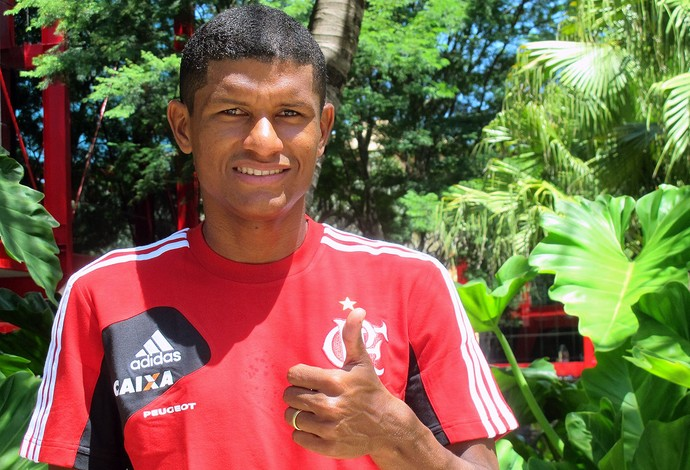 Marcio Araújo do Flamengo entrevista (Foto: Thales Soares)