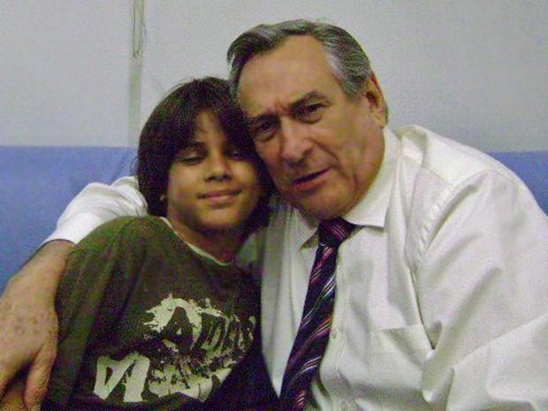 Matheus Venâncio fez participação em Duas Caras (Foto: Arquivo Pessoal)