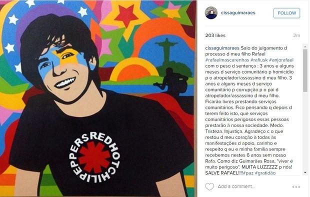 Cissa Guimarães (Foto: Instagram / Reprodução)
