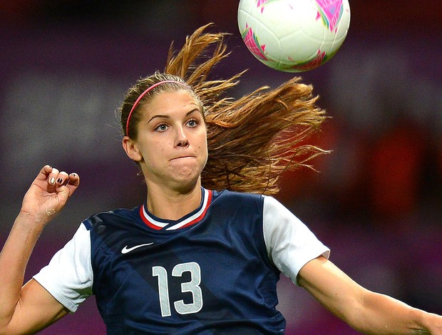 Alex Morgan, Estados Unidos, Spice Girl (Foto: Agência AFP)