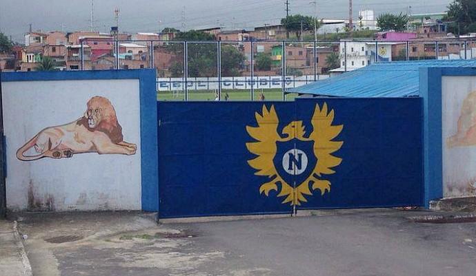 Nacional faz treino de portões fechados (Foto: Arlesson Sicsú)