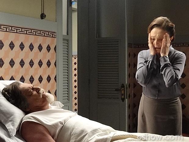 Gertrude confessa o assassinato de Catarina (Foto: Joia Rara/ TV Globo)