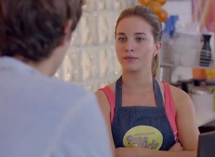 Teaser: Jéssica fica como ciúme de Luan e vai tirar satisfação com o rapaz