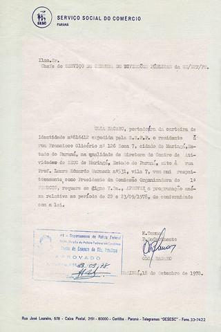 Até a volta da democracia, a programação do Femucic precisava ser autorizada pela censura da ditadura (Foto: Reprodução)