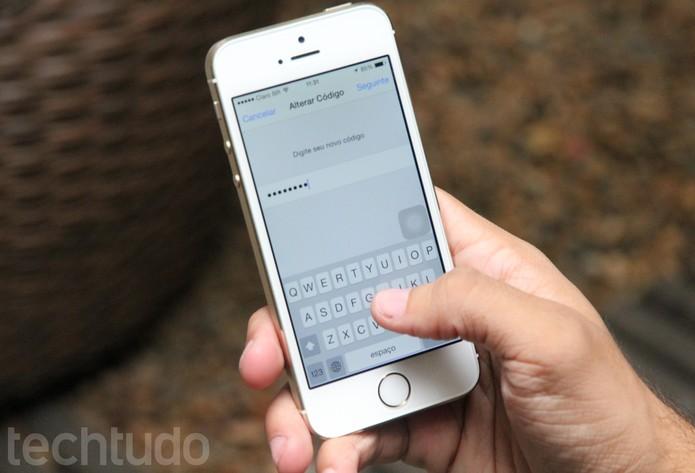 Utilize senhas complexas para melhorar a segurança no seu dispositivo (Foto: Carol Danelli/TechTudo)