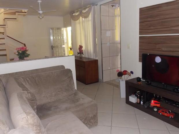 Moradora do Engenho de Dentro alugou casa para estrangeiros  (Foto: Arquivo Pessoal/Karin Branco)