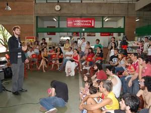 Sarau é destaque na agenda cultural de Araras (Foto: Arquivo - Secom/PMA)