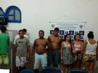 Operações prendem suspeitos de tráfico, roubos e homicídios em AL