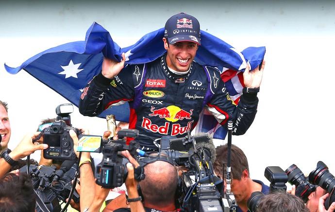 Daniel Ricciardo vence GP do Canadá (Foto: AFP)