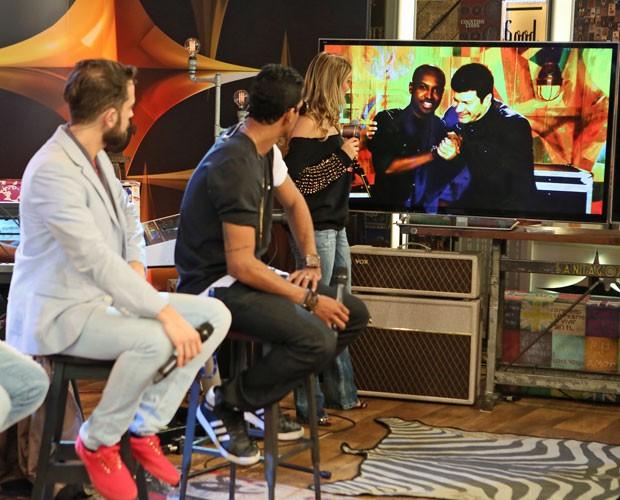 Thiaguinho e Paulo Ricardo dão dicas do que vão cantar no próximo SuperStar (Foto: Isabella Pinheiro/Gshow)