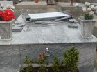 Vândalos atacam Cemitério Municipal de Osvaldo Cruz