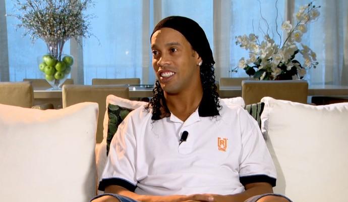 Ronaldinho, Esporte Espetacular (Foto: Reprodução TV Globo)