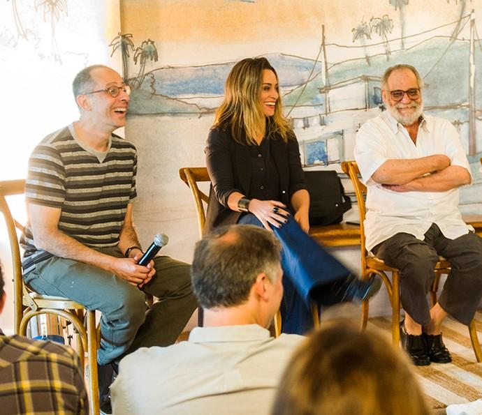 'Sol Nascente' é uma novela escrita em trio por Júlio Fischer, Suzana Pires e Walther Negrão (Foto: TV Globo / João Miguel Júnior)