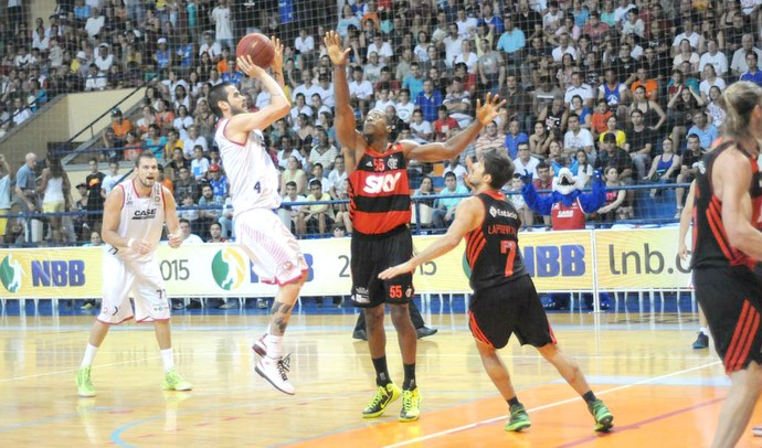 Liga Sorocabana LSB x Flamengo, pelo NBB 7 (Foto: Divulgação / Focaliza)