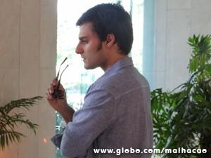 Martin ficou bolado com a ex (Foto: Malhação/ TV Globo)