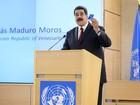 Maduro denuncia 'assédio' da ONU 'para isolar a Venezuela'